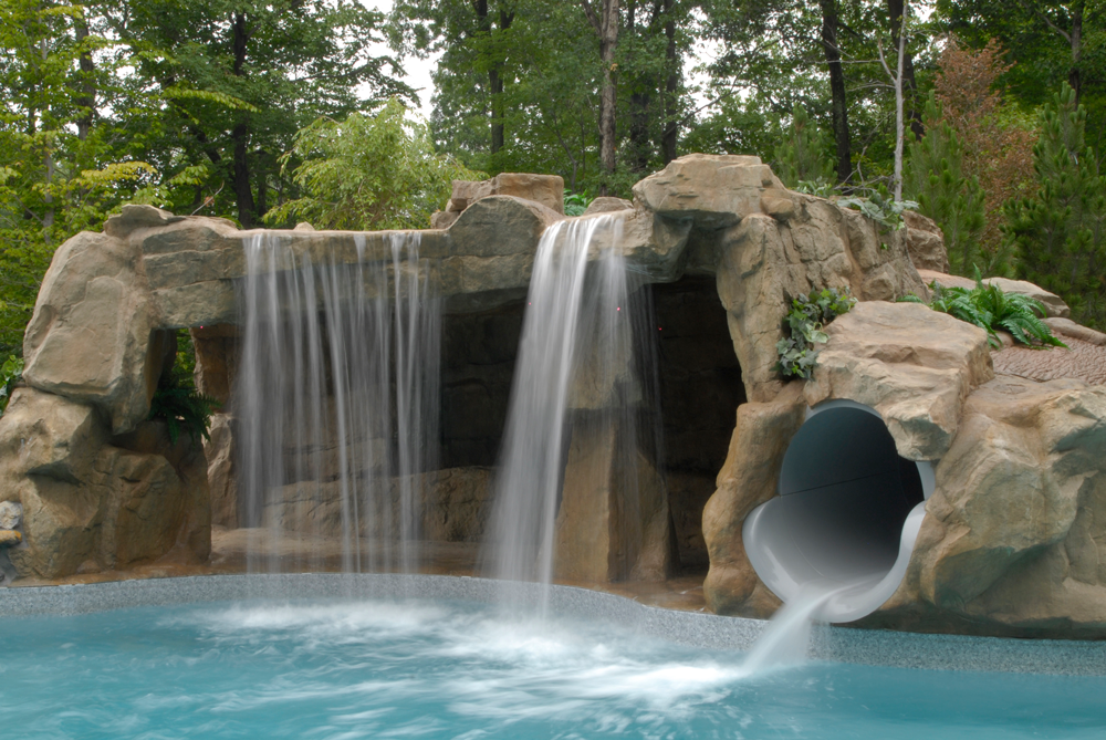 Long island design build landscape firm jeffrey ingrassia - How to build a swimming pool slide ...